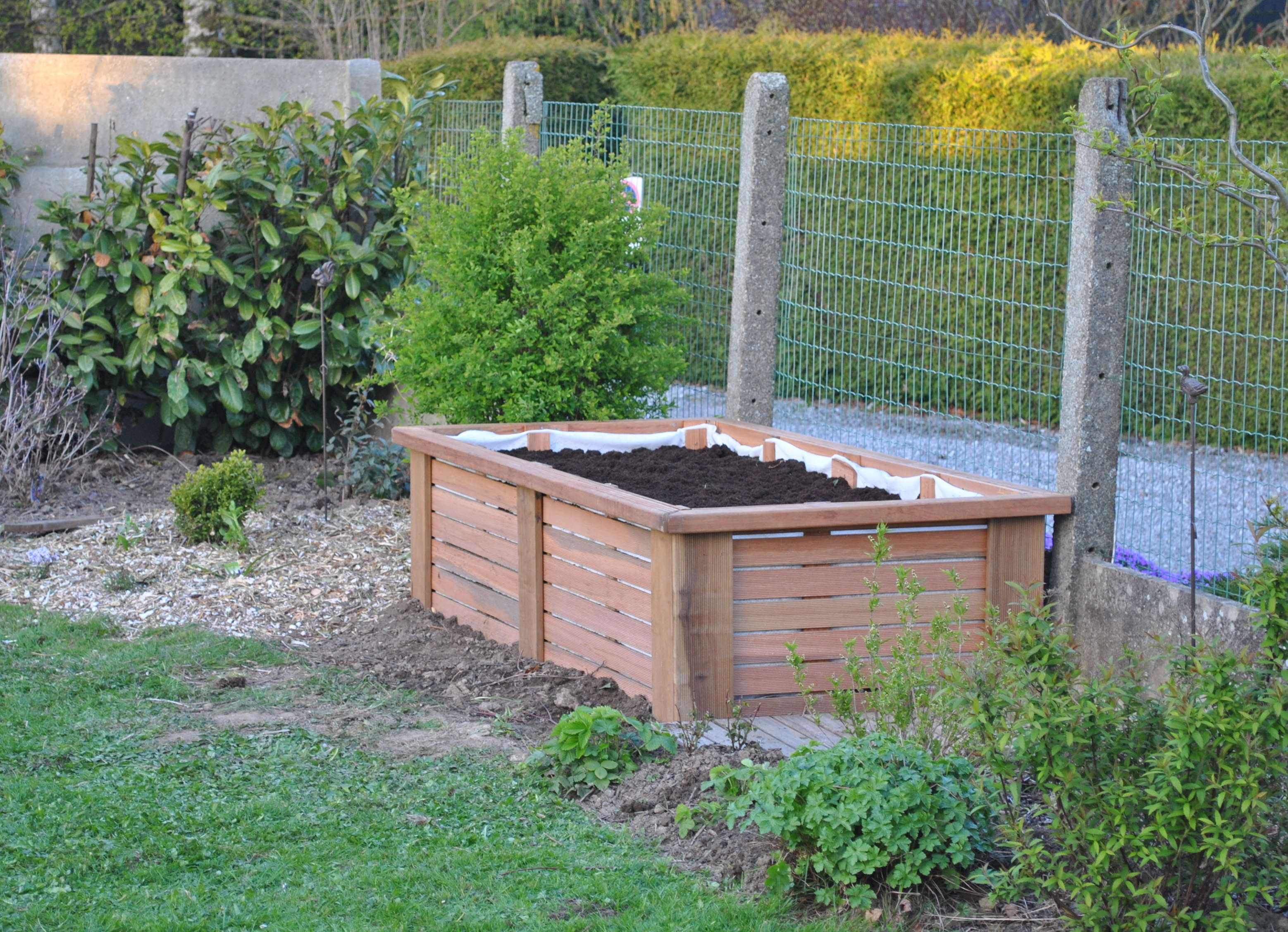 plan du potager les chroniques de mon jardin. Black Bedroom Furniture Sets. Home Design Ideas