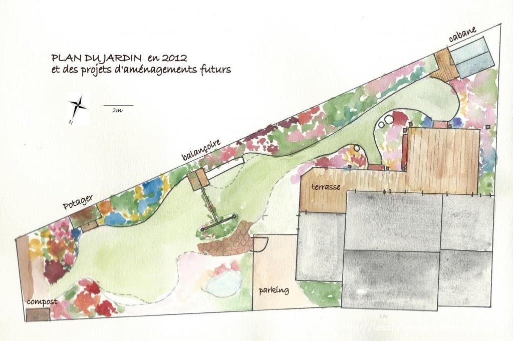 Plan du jardin les chroniques de mon jardin for Plan de jardin