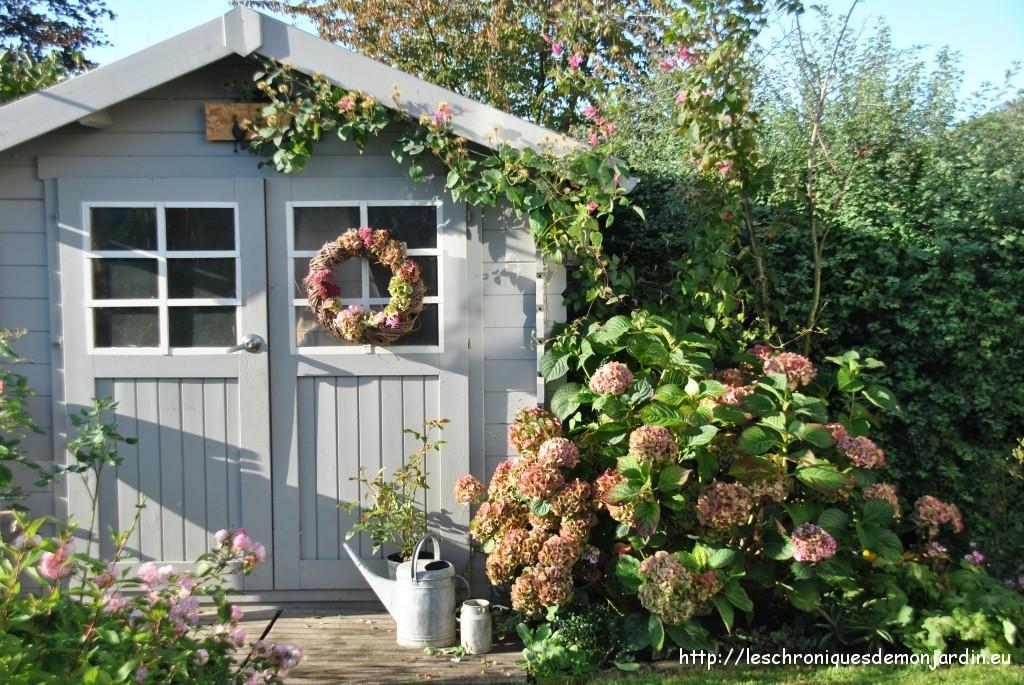 couronne d automne les chroniques de mon jardin. Black Bedroom Furniture Sets. Home Design Ideas
