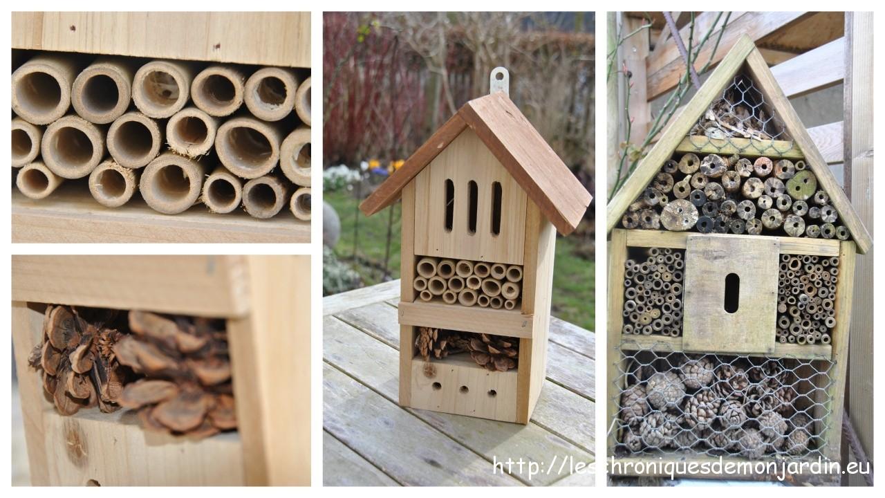 maison insectes les chroniques de mon jardin. Black Bedroom Furniture Sets. Home Design Ideas